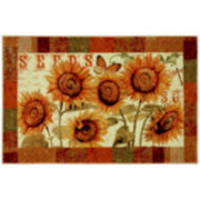 Mohawk Home® Sunshine Seeds Washable Rug