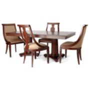 Edinburgh Pedestal 5-pc. Dining Set