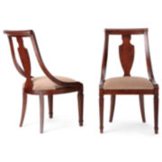 Edinburgh Set of 2 Side Dining Chairs