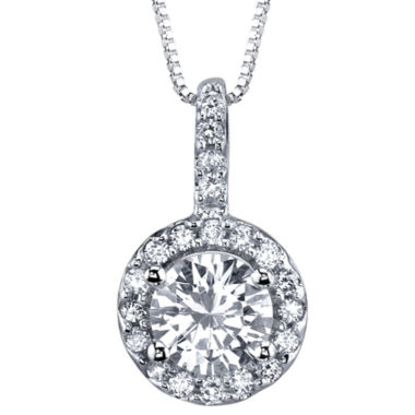 jcpenney.com | Simulated Diamond, Diamonore™ Pendant 1.2 CT. T.W. Necklace