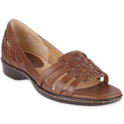 softspots® Hugh Leather Slip Ons