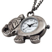 Decree® Elephant Watch Pendant Necklace