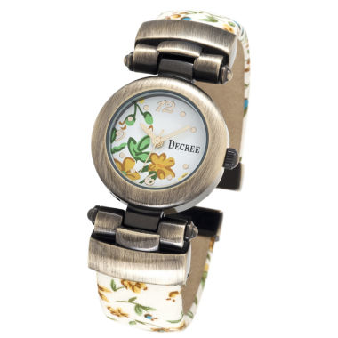 jcpenney.com | Decree® Fashion Floral Bangle Watch