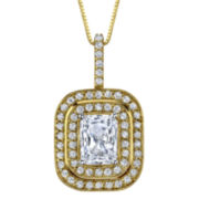 Diamonore™ Simulated Diamond Pendant 1.5 CT. T.W.