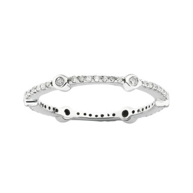 jcpenney.com | Personally Stackable 1/4 CT. T.W. Diamond Ring