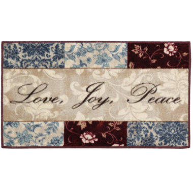 jcpenney.com | Sentiments Washable Kitchen Rug