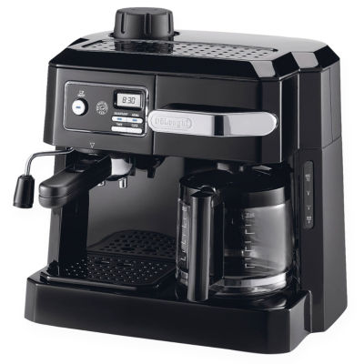 Coffee Maker Jcpenney : DeLonghi Combo Espresso/Coffee Maker BCO320T - JCPenney