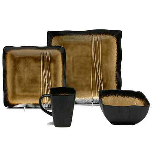 Galaxy Amber 16-pc. Dinnerware Set