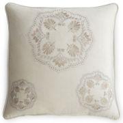 Royal Velvet® Serene Embroidered Square Pillow