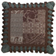 Croscill Classics® Catalina Brown Square Pillow