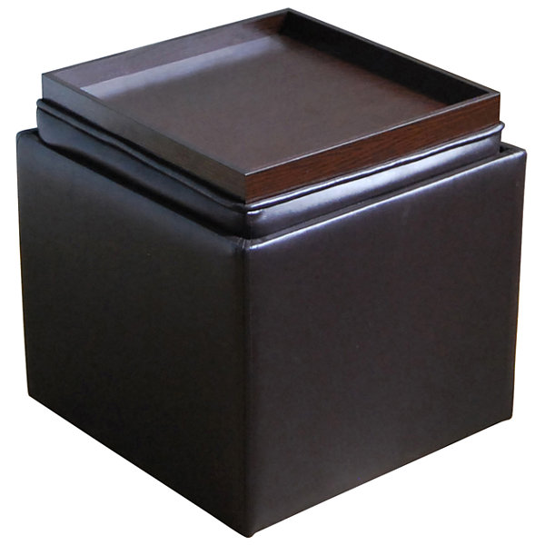 Jcpenney Home Furniture Store: Tenley Faux-Leather Ottoman