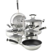 Circulon® 10-pc. Stainless Steel Cookware Set + BONUS