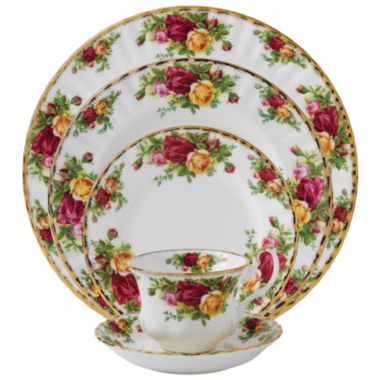jcpenney.com | Royal Albert® Old Country Roses 5-pc. Place Setting