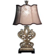 Reclaimed Object Table Lamp