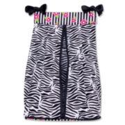 Trend Lab® Zahara Zebra Diaper Stacker