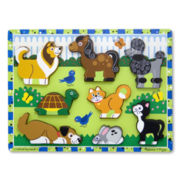 Melissa & Doug® Chunky Wooden Pets Puzzle