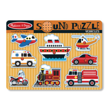 jcpenney.com | Melissa & Doug® Vehicles Sound Puzzle