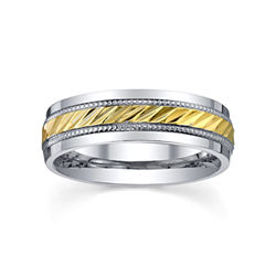 BEST VALUE! Stainless Steel Ring, Womens 6mm