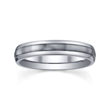 jcpenney.com |  Womens 4mm Titanium Wedding Band