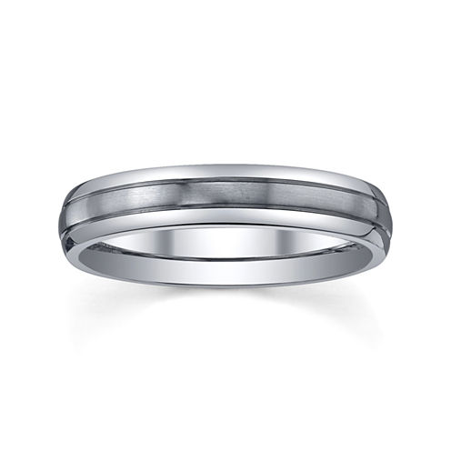 Womens 4mm Titanium Wedding Band