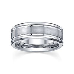 BEST VALUE! Tungsten Wedding Band, Mens 8mm