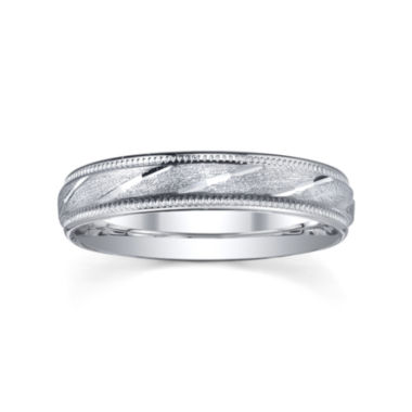 jcpenney.com |  Wedding Band, Womens 4mm Sterling Silver