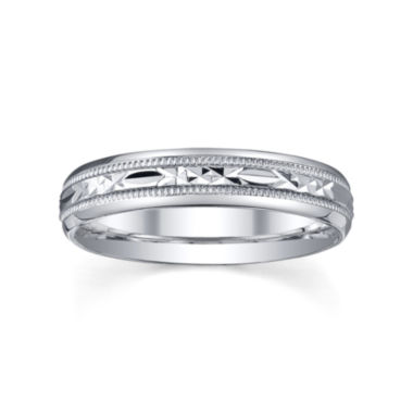 jcpenney.com |  Womens 4mm Sterling Silver Wedding Band