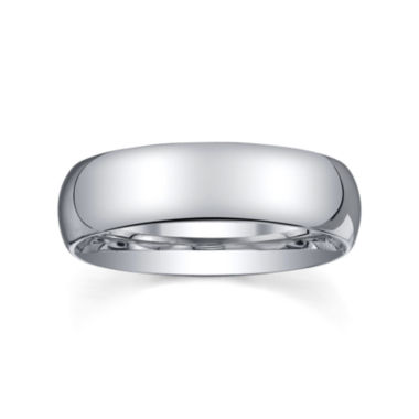 jcpenney.com |  6mm Silver Domed Mens Wedding Ring