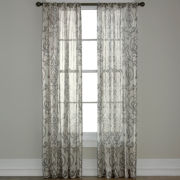 Royal Velvet® Alona Rod-Pocket Sheer Panel