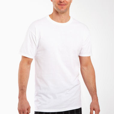 jcpenney.com | Hanes® 3–pk. Cotton Crewneck T–Shirts–Big & Tall