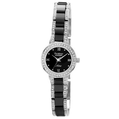 jcpenney.com | Armitron® Womens Black Ceramic Watch