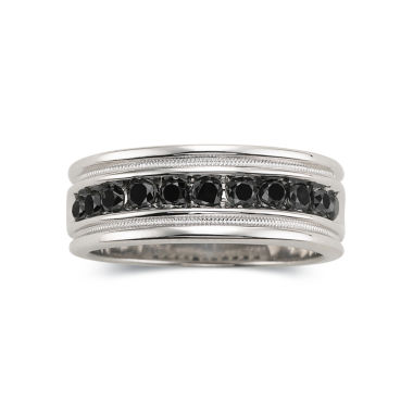 jcpenney.com | Mens 1/2 CT. T.W. Black Diamond Ring Sterling Silver