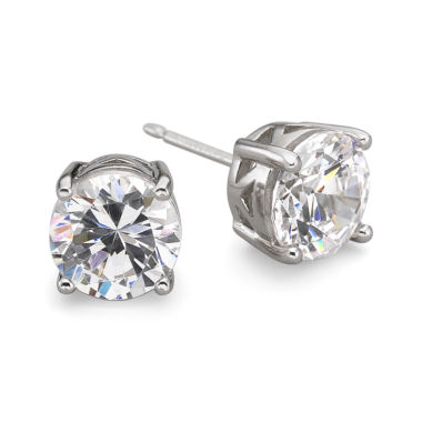 jcpenney.com | DiamonArt® Cubic Zirconia Silver Stud Earrings