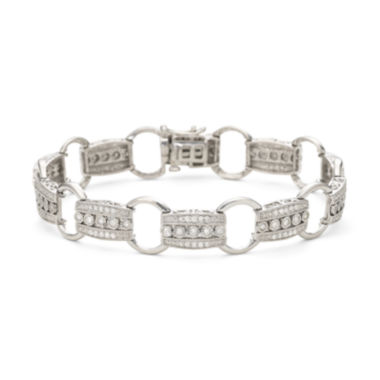 jcpenney.com | 1 CT. T.W. Diamond Sterling Silver Bracelet