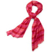 MNG by Mango® Woven Striped Scarf