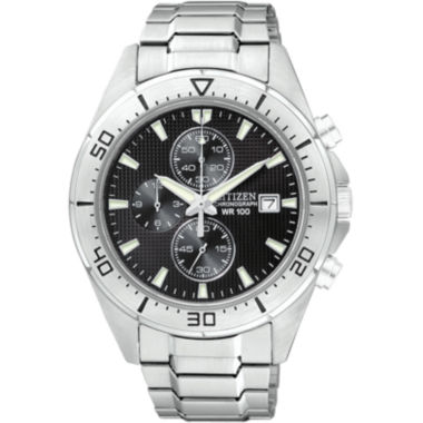 jcpenney.com | Citizen® Mens Black Dial Chronograph Watch AN3460-56E