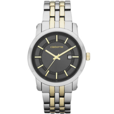 jcpenney.com | Claiborne Mens Two-Tone Watch