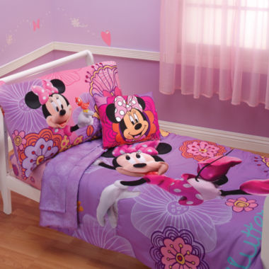 jcpenney.com | Disney Minnie Mouse 4-pc. Toddler Bedding Set