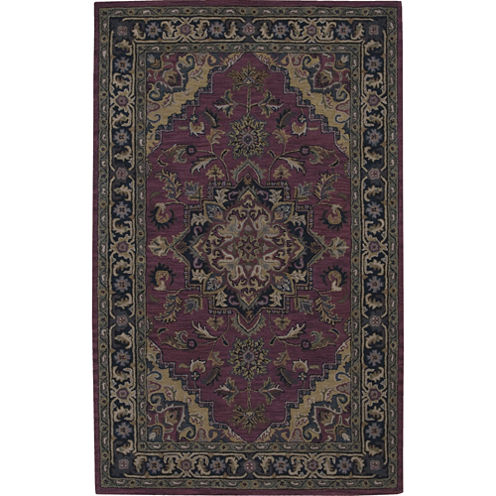 Nourison® Kent Wool Rectangular Rug