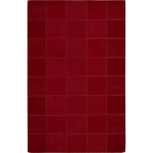 Nourison® Hopscotch Wool Rectangular Rug