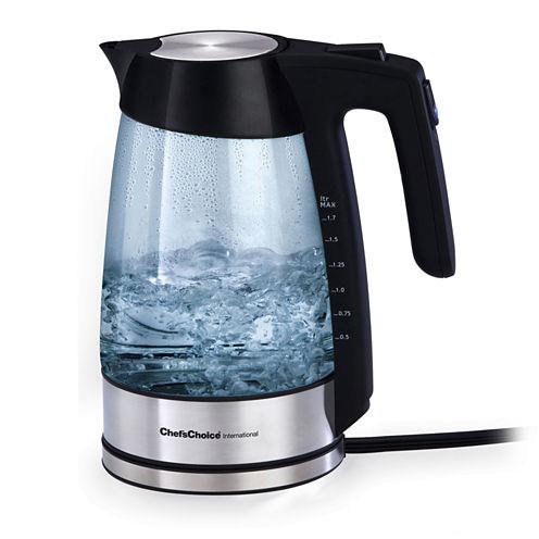 Chef'sChoice® 1¾-qt. Cordless Electric Glass Kettle 679