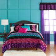 CLOSEOUT! Seventeen® Pop Art Animal Comforter Set & Accessories