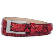 Snake-Print Belt