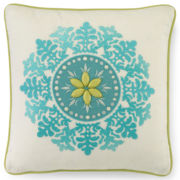 CLOSEOUT! Kashmir Square Decorative Pillow