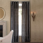 Royal Velvet® Madrid Rod-Pocket/Back-Tab Curtain Panel