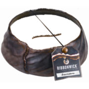 RibbonWick® Brownstone Round Candle