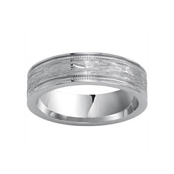 BEST VALUE! Mens Textured Cobalt Ring