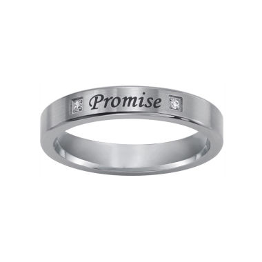 "jcpenney.com |  ""Promise"" Sterling Silver Ring w/ Diamond Accents"
