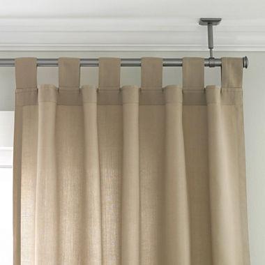 Curtains Ideas curtain rod adjustable : Studio Ceiling Mount Curtain Rod Set