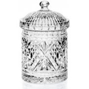 Dublin by Godinger Crystal Biscuit Box
